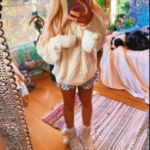 Chunky Lux Cable Knit Oversized Sweater ✨